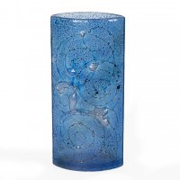 Blue 02 glass vase CELEBRA