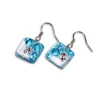 Turquoise earrings BLANKYT N025