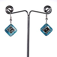 Turquoise earrings BLANKYT N0111