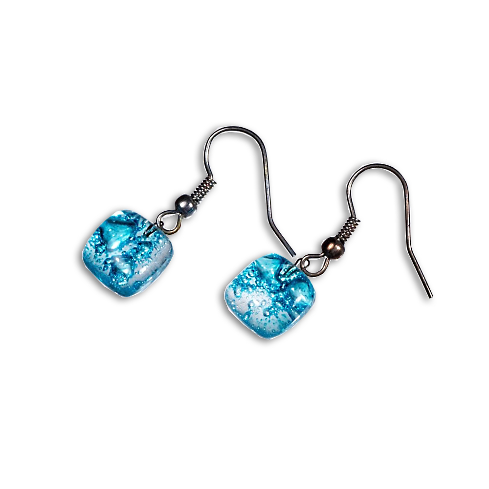 Turquoise earrings BLANKYT N0103