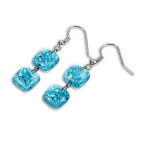 Turquoise earrings BLANKYT N0106