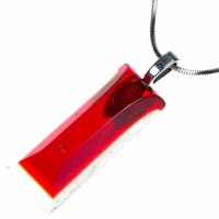 Cut glass jewel red PRV0819