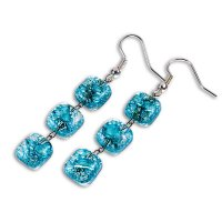 Turquoise earrings BLANKYT N0102