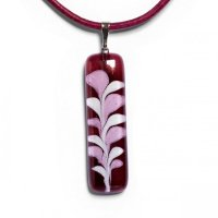 Winy rectangular glass pendant CHIARA P1203